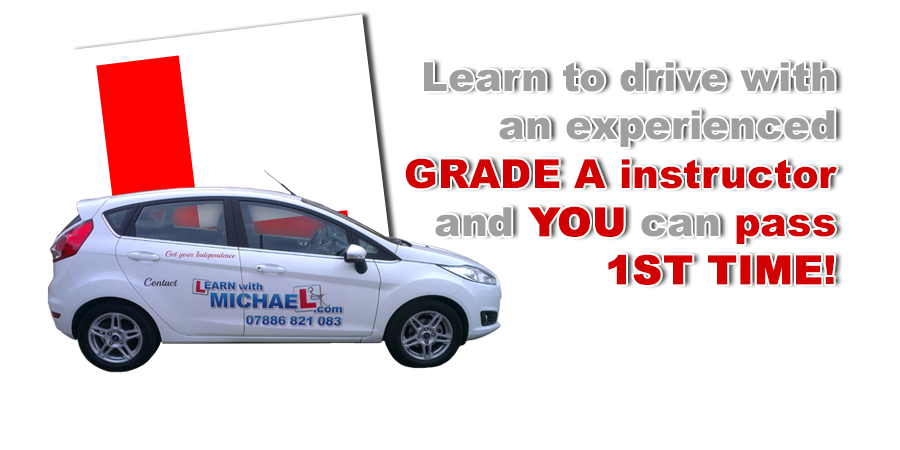 Driving lessons with Learn with Michael